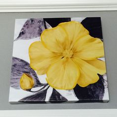 Another Canvas Painting From TJ's Branson Store. LVE Gray&Yellow #LandinLivin