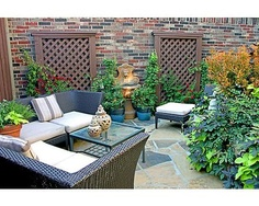 Great use of a small yard.