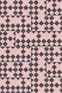 India Mahdavi for Bisazza / Domino cement tiles / London Design Journal