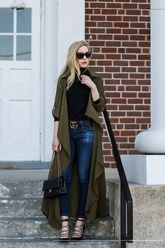 5128757_meagan_brandon_fashion_blogger_wearing_olive_utility_duster_jacket_with_gucci_marmont_belt_and_valentino_rockstud_pumps__black_and_gold_buckle_gucci_belt_outfit