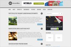 Accentbox is a free GPL WordPress Theme by MyThemeShop