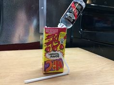 The Vulgar Chef - How to make a juice box shooter - YouTube