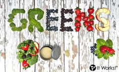 Not eating all of the fruits and #veggies that you should? Feeling sluggish and off balance ? Want more energy to get through your day? Help alkalize, balance, and detoxify your body with every glass of Greens ! #Nutrition #berrygreens  Call/Text 520-840-8770 http://bodycontouringwrapsonline.com/it-works-greens