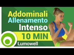 Addominali: Allenamento Intenso - Esercizi per una Pancia Piatta - YouTube