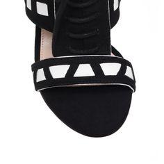 4d71645ae58d giraffe black high heel sandals from Carvela Kurt Geiger