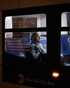 Photographer Travis Huggett Captures Commuters On The Bus