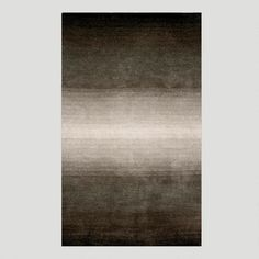 One of my favorite discoveries at WorldMarket.com: Ombre Stripes Rug, Gray