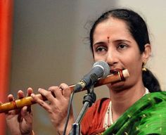 Jayaprada Ramamurthy, the renowned Indian Classical Bamboo Flute Artiste of Hyderabad Desi Music, Hyderabad, Flute, Artsy Fartsy, Musicians, Bamboo, Indian, Artist, Color