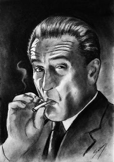 It' pesci s very common to hear people repeating famous movie quotes, you could even say they are part of our everyday quotes lives. the casino film Gangster Tattoos, Mafia Gangster, Gangster Movies, Caricatures, Don Corleone, Famous Movie Quotes, Desenho Tattoo, Movie Poster Art, Living At Home