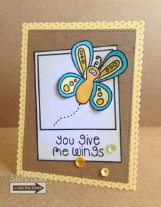 TAWS, The Alley Way Stamps, Fly By,Framed, cards, clear stamps, Sabine