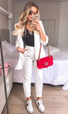 Fall Fashion Outfits, Suit Fashion, Fashion Face, Work Fashion, Urban Fashion, Chic Outfits, Autumn Fashion, Formal Outfits, Looks Chic