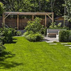 Contemporary Garden Shelley Hugh-Jones Garden Design Built by Garden Builders Contemporary Garden Design, Contemporary Landscape, Contemporary Fencing, Landscape Design, Back Gardens, Small Gardens, Landscaping Tips, Garden Landscaping, Porches