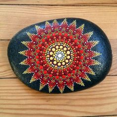 40 DIY Mandala Stone Patterns To Copy..I'm hooked