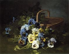 Pansy art by Edward C. Leavitt