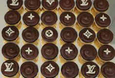 Louis Vuitton Cupcakes | Marias Salt og Søtt: Louis Vuitton Cupcakes