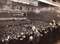 Biggest Nazi Rally outside of Germany - Buenos Aires, Luna Park, 1938