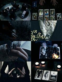 "kinstethic: "" Dark Witch aesthetic """