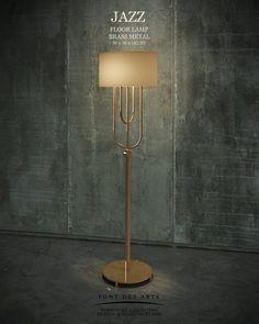 JAZZ Floor Lamp - Pont des Arts Studio - Designer Monzer Hammoud- Paris-