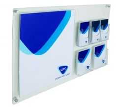 Wall Mounted Information Board manufactured from acrylic. This notice display board includes an poster holder, plus and leaflet holders. Brochure Display, Information Board, Student Success, Wall Mount, Boards, Leis, Marketing Ideas, Header, Swan