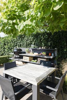 So Eine Outdoor Küche Ist Ganz Schön Gemütlich! (Foto: Blies Public  Relations
