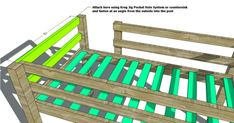 Free Woodworking Plans to Build a Twin Low Loft Bunk Bed – The Design Confidential – Woodworking 2020