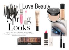 """i LOVE Beauty"" by padesigns16 ❤ liked on Polyvore featuring beauty, H&M, Kat Von D, MAC Cosmetics, Christian Dior, Guerlain, Topshop and Lancôme"