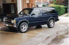 1991 Chevy Blazer ... K5 ... Had Black & Red.