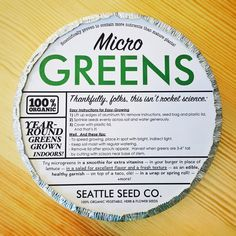 Microgreen Starter Kits-WHOLESALE Everything you customer needs to grow organic microgreens at home. Kit includes: Organic radish and broccoli microgreens seeds (one spicy, one mild); enough for up to seeds Indoor Vegetable Gardening, Organic Gardening, Gardening Tips, Container Gardening, Grow Organic, Organic Seeds, Starting Seeds Indoors, Fall Vegetables, Smoothie Ingredients