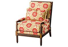 One Kings Lane - Massoud - Poppy Chair