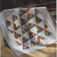 Candy Kisses Quilt Pattern by Scrappy Quilt Designs at KayeWood.com. Finished Size 60in x 63in Requires 2 rolls of 60 degree tri-angle paper. http://www.kayewood.com/Candy-Kisses-Quilt-Pattern-by-Scrappy-Quilt-Designs-SQD-CAKI.htm $10.00