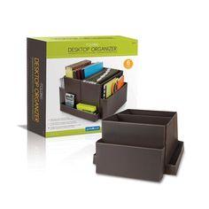 Guidecraft Folding Desktop Organizer - Brown