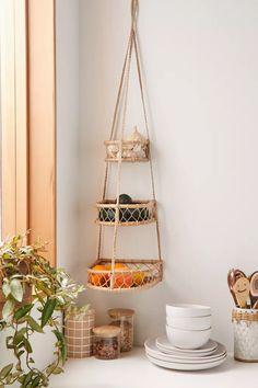 Molly Boho 3-Tier Hanging Basket