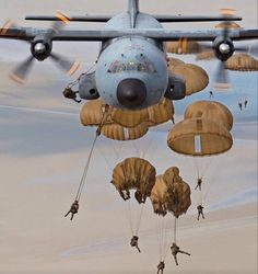 "C-130 Hercules ""giving birth."""