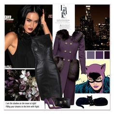 """""""Catwoman - BASTET"""" by carla-turner-bastet ❤ liked on Polyvore featuring Dolce&Gabbana, Gareth Pugh, N°21 and Christian Louboutin"""