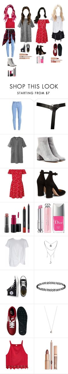 """""""#2"""" by mh-loves1d ❤ liked on Polyvore featuring Gianvito Rossi, Miss Selfridge, MAC Cosmetics, Christian Dior, MINKPINK, Converse, Dorothy Perkins, NIKE and Vanessa Mooney"""