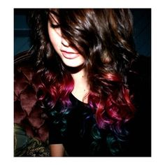 I absolutely LOVE the color.. I want to do this to my hair when it gets longer!