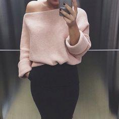 Pull jupe épaule
