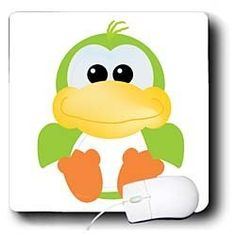Dooni Designs Goofkins Characters - Goofkins Green Duck Cartoon - Mouse Pads by 3dRose, http://www.amazon.com/dp/B00BI6DS90/ref=cm_sw_r_pi_dp_XFJmrb13R3DQ0