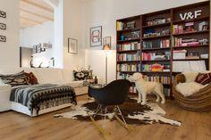 Loft Living Room eklektisch-wohnzimmer