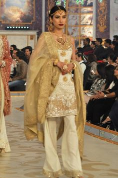 #pantenebridalcoutureweek2013 #bridalcouture PBCW Latest 2013 Bina Sultan Collection