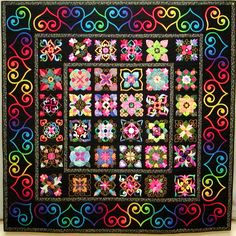 affair of the heart applique quilt - Google Search