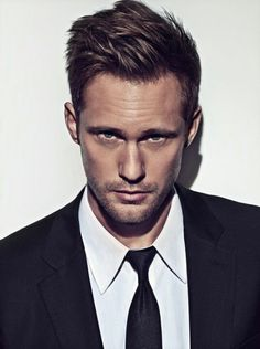 Alexander Skarsgard .... and his haircut ... and I know he wants to date me but....