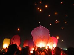 Dieng Culture Festival. Lampion party with your friends.  #lampion #party #dieng #culture #indonesia #travelling
