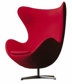 Designed by Arne Jacobsen for Fritz Hansen is available at Switch Modern - your source for original contemporary design. Initially, Arne Jacobsen designed the Ant for the canteen at Novo Nordic, an international Danish healthcare comp Modern Chairs, Modern Furniture, Furniture Design, Furniture Chairs, Bauhaus Furniture, Danish Furniture, Modern Armchair, Ikea Chair, Egg Chair