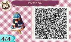 "nom-nom-keiko: "" MONSTER HUNTER QR CODES FOR ANIMAL CROSSING NEW LEAF Arzuros armor Artist: azu @ Pixiv """