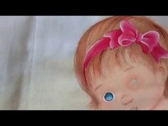 Como pintar olhos verdes - Pintura em tecido