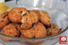 Ricetta Biscotti al miele e mirtilli rossi