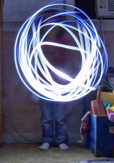 Create Art With Me! Drawing with light like Picasso--Using Digital Cameras in the Elementary Art Classroom.