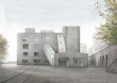 Caruso St John Architects . Elysée-mudac Musem, in Lausanne, Swisserland
