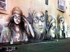 jan 12, 2014 IZTA Actualités, Allemagne, Berlin Alice Pasquini , la jeune et talentueuse street artiste venue de Rome, est à Be...